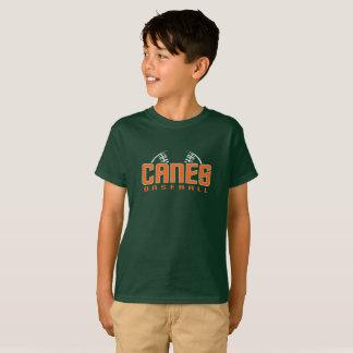 Canes Kids' Green T-Shirt