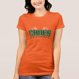 Canes Women's Orange T-Shirt