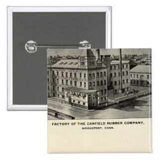 Canfield Rubber Co 15 Cm Square Badge