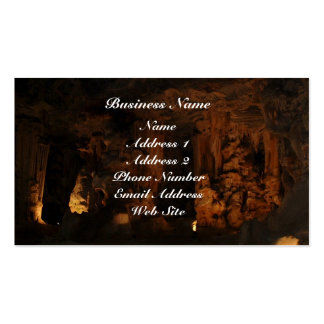 Cango Caves S. Africa Business Cards