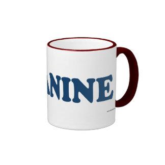 Canine Blue Coffee Mugs