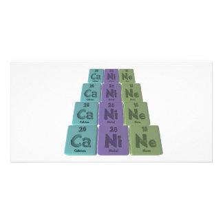 Canine-Ca-Ni-Ne-Calcium-Nickel-Neon.png Custom Photo Card