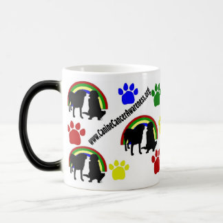 Canine Cancer Awarness  Morphing Mug