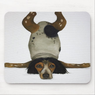 Canine Contortionist Mousepads