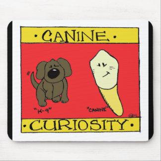 Canine Curiosity Mousepad