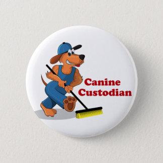 Canine custodian pin