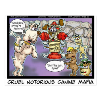 Canine Mafia Funny Tees Cards Mugs & GIfts