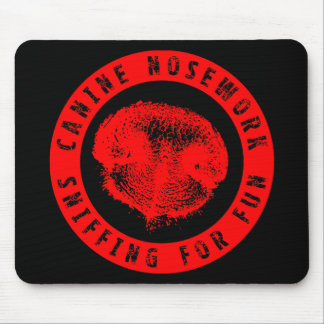 Canine Nosework, Sniffing for Fun Mouse Pad