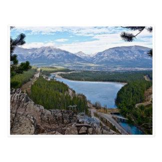 Canmore Alberta Canada Postcard
