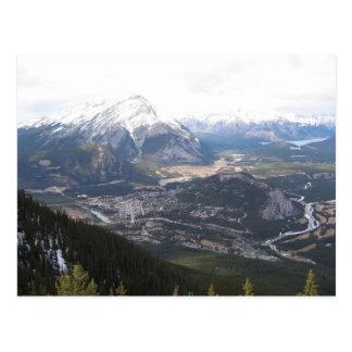 Canmore Alberta's Mystic Springs Postcard