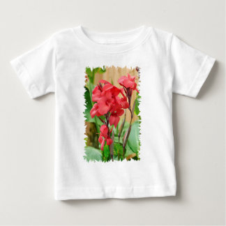 Cannas rouges PNG Baby T-Shirt