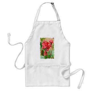 Cannas rouges PNG Standard Apron