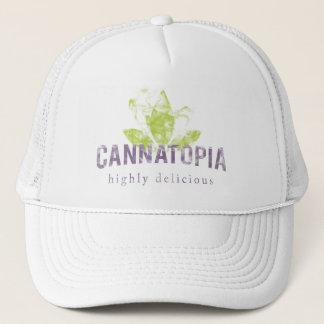 Cannatopia Smoke Logo Trucker Hat