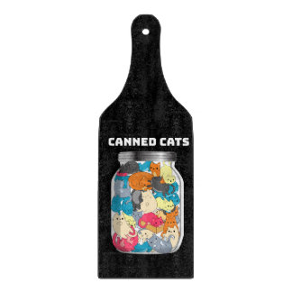 Canned Cats Cutting Board