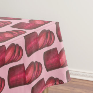 Canned Cranberry Sauce Thanksgiving Dinner Food Tablecloth