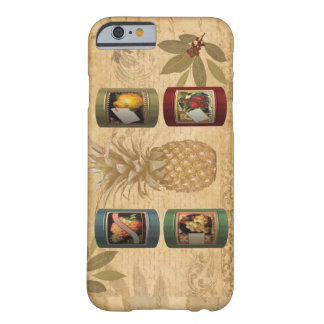 Canned fruit pineapple barely there iPhone 6 case