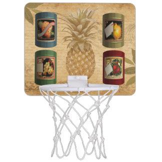 Canned fruit pineapple mini basketball hoop