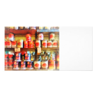 Canned Tomatoes Photo Greeting Card