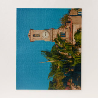 Cannes Clock Jigsaw Puzzle