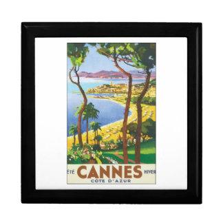 Cannes Cote D' Azur Large Square Gift Box
