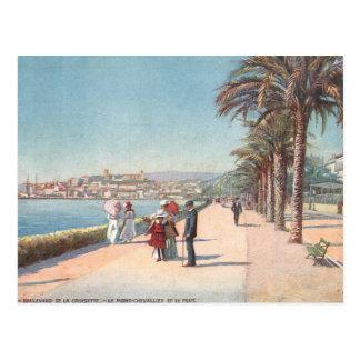 Cannes France Postcard