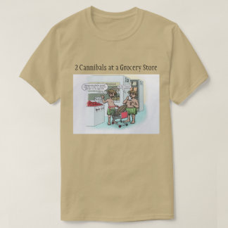 Cannibal Cartoon T-Shirt