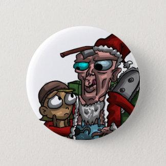 Cannibal Claus 6 Cm Round Badge
