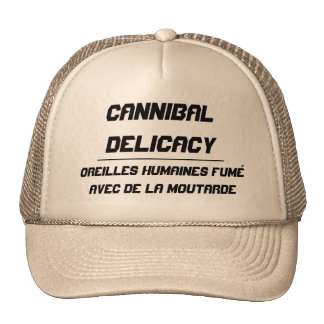Cannibal Delicacy smoked eyes Cap