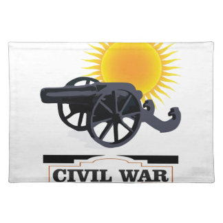 cannin sun civil war placemat