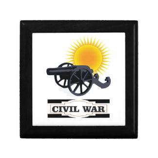 cannin sun civil war small square gift box