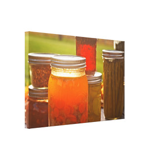 Canning in Autumn Stretched Canvas Prints