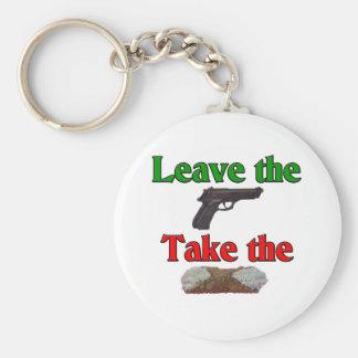 Cannoli Keychain