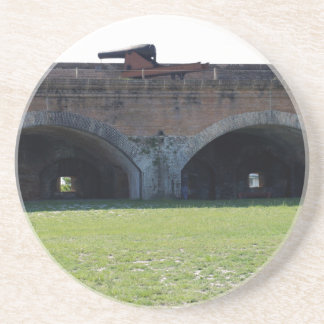 Cannon at Fort Pickens Coasters