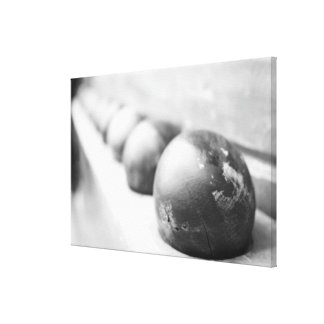 Cannon Balls Canvas Print