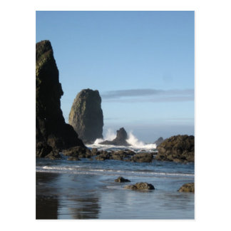 Cannon Beach and Haystack Rock wrapping paper Postcard