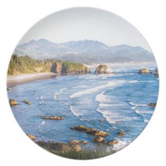 Cannon Beach Oregon Plate