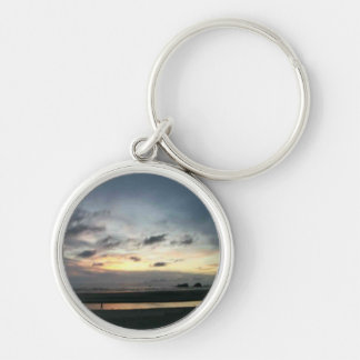 Cannon Beach Sunset Key Ring