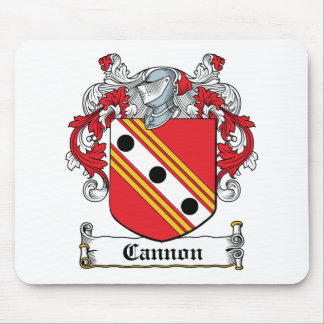 Cannon Family Crest Mouse Pad