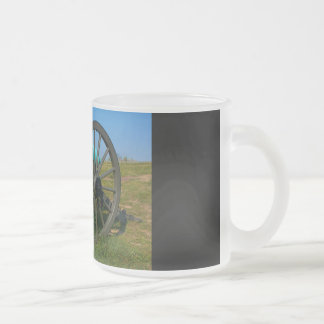 Cannon - Gettysburg National Park - Pennsylvania Frosted Glass Coffee Mug