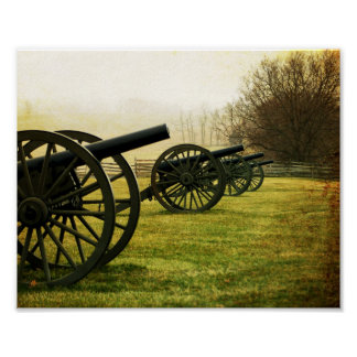 """""""Cannons in a Row"""" Fine Art Print"""
