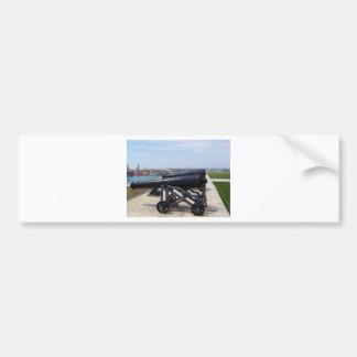Cannons On Malta Bumper Sticker