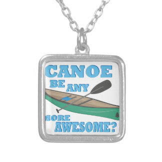 Canoe Awesome Silver Plated Necklace