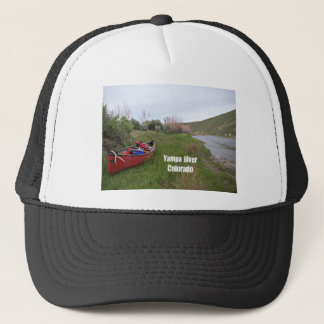 Canoe Camping, Yampa River, CO Trucker Hat