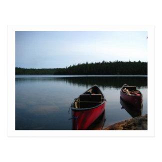 Canoe Canada Postcard