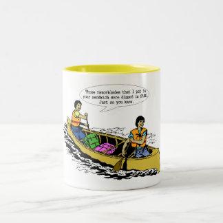 Canoe Conversation- mug
