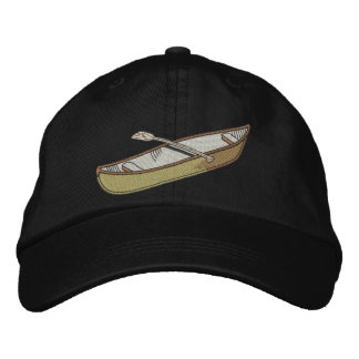 Canoe Embroidered Hat