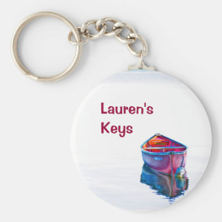 Canoe Evening Key Ring
