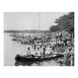Canoe Regatta: 1924 Posters