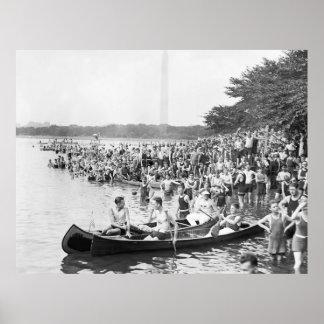 Canoe Regatta 1924 Posters