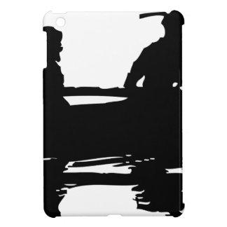 Canoe Silhouette Cover For The iPad Mini